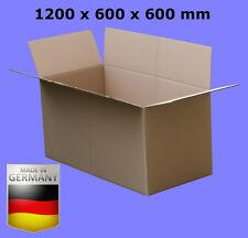 KARTON ca.120 x 60 x 60 cm FALTKARTON 1200 x 600 x 600 KARTONS VERSANDKARTONS