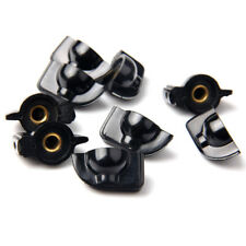 5pcs Black Plastic Amp Knob Chicken Head Chickenhead Hole Diamete 6mm BS
