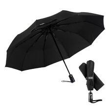 Third Floor Umbrellas Compact 46 Inch Automatic Open and Close Travel Umbrella