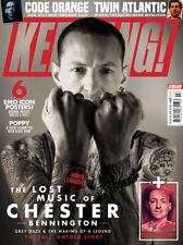 KERRANG! magazine Jan 2020: Chester Bennington Special (Linkin Park) + Art Print