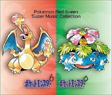 Pocket Monster Pokemon Red Green FireRed LeafGreen Super Music Collection 4 CD