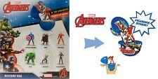 Marvel Avengers Ovetto Personaggi Sorpresa Capitan America Thor IronMan Hulk 1pz