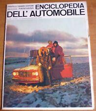 Sergio Pininfarina ENCICLOPEDIA DELL'AUTOMOBILE 1967 n° 32 - LANCIA -       8/17