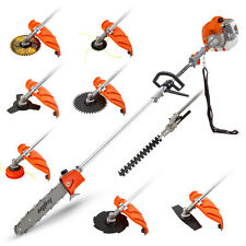 Baumr-AG 7-in-1 65cc Pole Chainsaw & Brush Cutter - YouTube