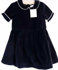 Olive Juice Girls Dress Size 2 Black Velvet Button Up Nwt Holiday Dressy