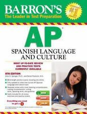 Barron's AP Spanish Language and Culture with MP3 CD, 8th Edition, Good Books