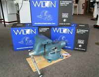 "Wilton 8"" Tradesman Round Channel Vise w/ Swivel Base ~ Model 1780A ~ USA-Made!"