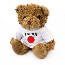 NEW - Japan Flag Teddy Bear - Japanese Fan Gift Present Nippon