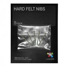 Wacom Stylus Hard Felt Replacement Pen Nibs ACK-20003 (5pack)