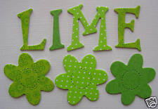 Doodlebug ACCENTS *~*LIMEADE*~* Chipboard Letters