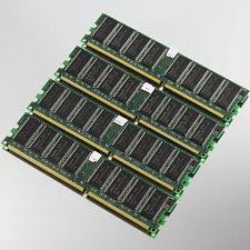 NEW 4GB 4x 1GB DDR400 PC3200 Low-Density memory 400MHZ NON-ECC For Intel chipset