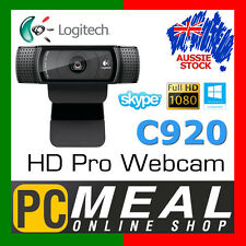 Logitech C920 HD Pro Webcam 15-Megapixel Full HD 1080p PC Skype Autofocus Camera