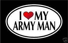 "5.75"" I LOVE MY ARMY MAN vinyl decal sticker.. MILITARY"