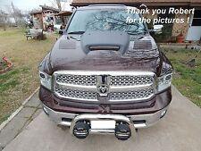 k style 2009 2010 2011 2012 2013 2014 2015 16 17 Dodge Ram 1500 fiberglass hood