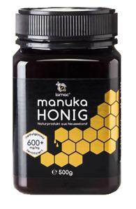 (197,80€/1kg) 500g MANUKA-HONIG von LARNAC: MGO 600+ Manukahonig (550+)