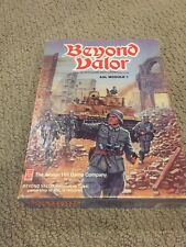 Beyond Valor: ASL Module1: Game of Eastern Front Tactical Warfare by Avalon Hill