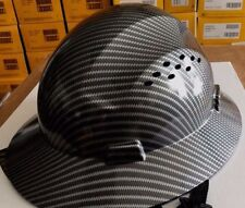 HDPE-Hydro-Dipped-Black-Full-Brim-Hard-Hat-with-Fas-trac-Suspension  HDPE-Hydro