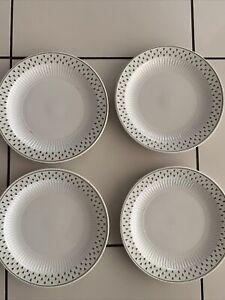 "ADAMS MEADOWLANDS IRONSTONE 4 X 10.25"" DINNER PLATES"
