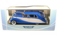 Rolls Royce Silver Wraith Hooper Empress Line, RHD (blue/grey) 1956