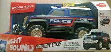 Dickie Toys Hong Kong Ltd, Light and Sound Police SUV  NEW