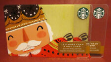 Lot of 3 Starbucks, 2017 Nutcracker Gift Cards New with Tags