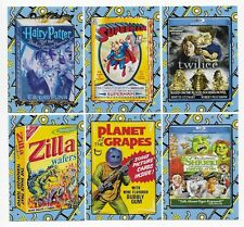 2018 Topps Wacky Packages Go to the Movies CLASSIC FILM Insert Set  20 Stickers