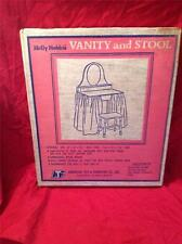 VINTAGE HOLLY HOBBIE VANITY AND STOOL (ATF)  <<RARE, NEW IN BOX, NEVER OPENED