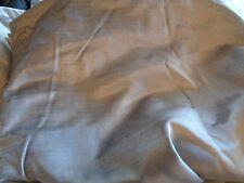 West Elm velvet cotton luster Drapes panels 48 108 platinum  blackout S/2 new