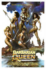 1985 Barbarian Queen Vintage Fantasy Movie Poster Print 36x24 9Mil Paper