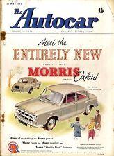 AUTOCAR MAGAZINE 1954-21/5 ROAD TEST #1532 VOLVO 444 SALOON