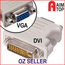 DVI 24+5-pin Male to VGA Female Adaptor Convertor - PC with DVI to VGA Monitor