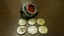 Power Rangers Morpher with Six Coins - working lights and sound