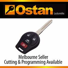Complete Key & Remote to suits NISSAN PULSAR & ALMERA 2012+ (Aftermarket)