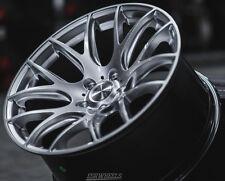 "18"" ESR SR12 Hypersilver Wheels 18x8.5 +35 18x9.5 +40 5x120 For BMW E36 M3 Rims"