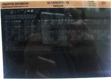 Honda GL1500CD Valkyrie 2001 - 2002 Microfiche h381