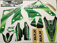 N-Style Paint Graphics & Seat Cover Kit 2006-08 Kawasaki KX450F Decals Stickers