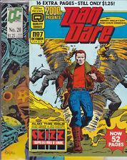 2000 Ad Presents #7 & 20 Quality Comics Dan Dare Alan Moore stories Judge Dredd