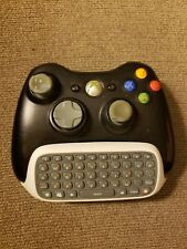 Official Xbox 360 Wireless Controller Model 1403 and Chatpad N1364