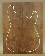 MADRONE BURL electric guitar drop top luthier #106 b-MDR egdt