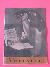 The Notre Dame Scholastic April 9, 1948 Frank Leahy football