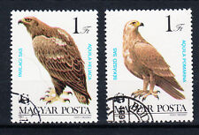Briefmarken Ungarn 1983 Greifvögel Mi.Nr.3624+25