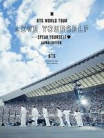 BTS WORLD TOUR 'LOVE YOURSELF: SPEAK YOURSELF' JAPAN Limited Edition
