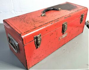 Vintage Craftsman No. 65141 Commercial Duty USA Made Tool Box with Tray