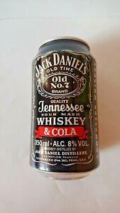 JACK DANIEL'S - 2 boîtes 33 cl + 1 petite bouteille 27,50 cl