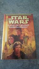 Star Wars: Planet of Twilight, by Barbara Hambly (Hardback, 1997)