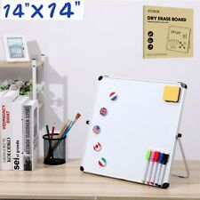 STOBOK Dry Erase Board Kids Drawing Board Magnetic Home School Writing Board