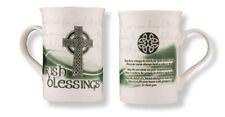 AN IRISH BLESSING PORCELAIN MUG IRELAND 100's OF RELIGIOUS / INSPIRATIONAL ITEMS