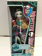 Monster high lagoona blue skull shores first wave doll rare