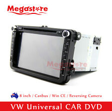 "8"" GPS Nav Car Radio DVD Player For Volkswagen Golf GTI Wagon VW Universal"