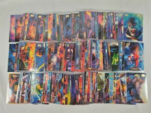 1994 Marvel Masterpieces Series 3 Complete Base Set #1-140 *NICE! PACK FRESH*